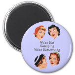 Funny Funny Ladies 2 Inch Round Magnet