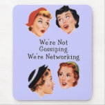 Funny Funny Ladies Mouse Pad