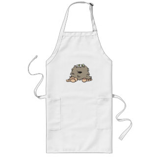 funny furry bigfoot monster aprons