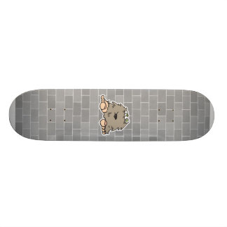 funny furry bigfoot monster skate board decks
