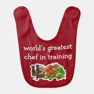 Funny Future Chef Baby Boy Bib