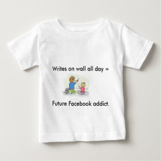 """Funny """"Future Facebook Addict"""" T-Shirt for Kids"""