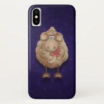 Funny Fuzzy Sheep Phone Case