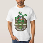 Funny Gaelic Offensive St Patricks T-shirt at Zazzle