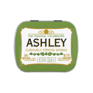 Funny Gag Gift - Curiously Strong and Sweet Candy Tins