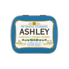 Funny Gag Gift - Curiously Strong And Sweet Jelly Belly Tin at Zazzle