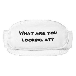 Funny Gag Gift What Are You Looking At Joke Visor