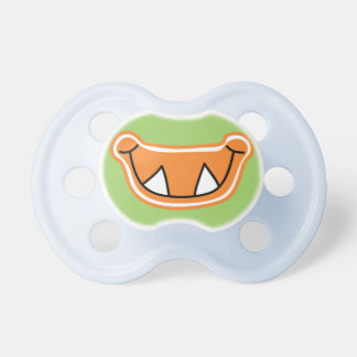 Funny Gag Green Boy Baby Monster Mouth Smile BooginHead Pacifier