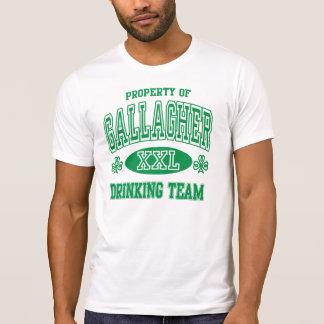 Funny Gallagher Family Irish Drinking Team Tee Shirt