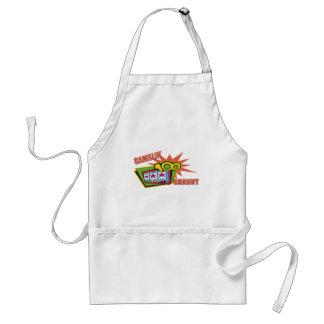Funny Gambling Granny T-shirts Gifts Adult Apron
