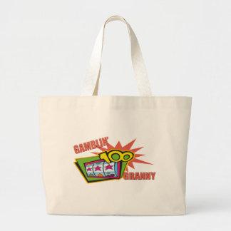 Funny Gambling Granny T-shirts Gifts Tote Bags