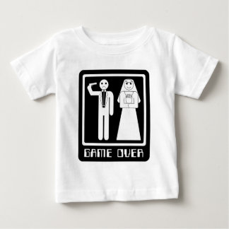Funny Game Over Baby T-Shirt