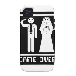 Funny Game Over Case-Mate iPhone 4 Cover