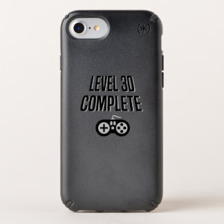 Funny Gamer 30th Birthday  Level 30 Complete Speck iPhone Case