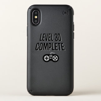 Funny Gamer 30th Birthday  Level 30 Complete Speck iPhone X Case