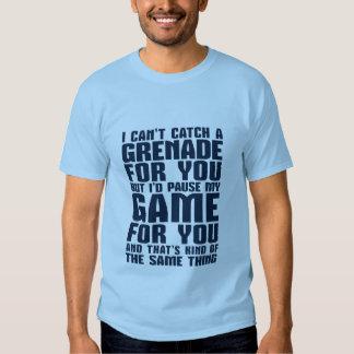 Funny Gamer and Geek Love Romantic T-shirt