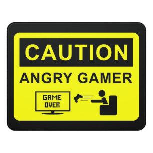 Funny Gamer Door Sign  sc 1 st  Zazzle & Funny Door Signs | Zazzle