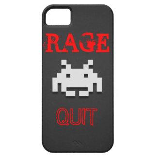 Funny Gamer Rage Quit iPhone 5/5s case