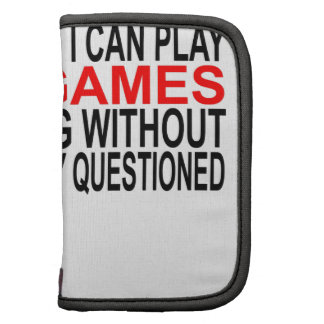 Funny Gamers T-shirt Gift for Nerds and Geek.pnga Folio Planners