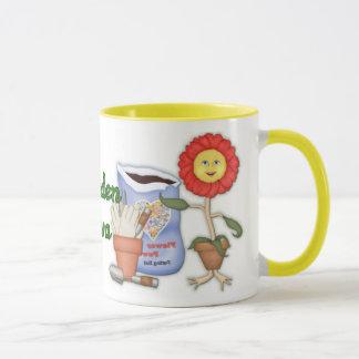 Funny Garden Diva Mug