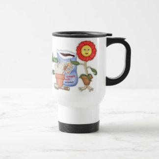 Funny Garden Diva Travel Mug