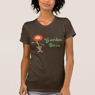 Funny Garden Diva T Shirt