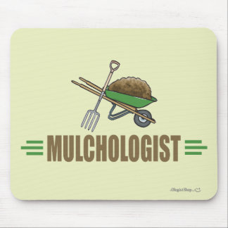 Funny Garden Landscaping Mouse Pad