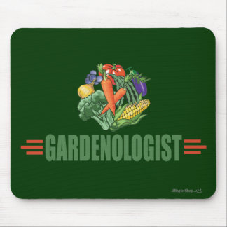 Funny Gardener Mouse Pad