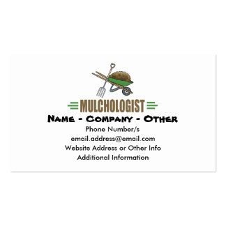 Funny Gardening Business Card