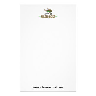 Funny Gardening Personalized Stationery