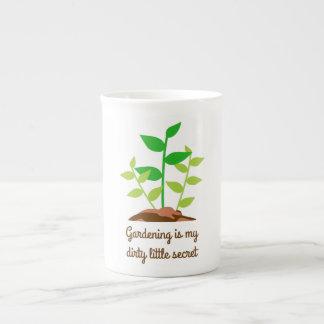 Funny Gardening Tea Cup