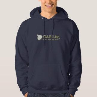Funny Garlic Hooded Sweatshirt