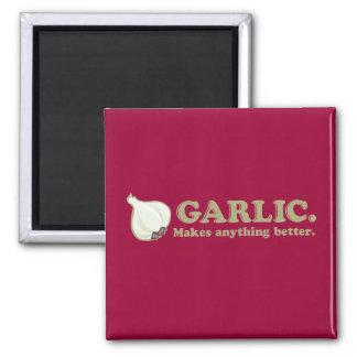 Funny Garlic Refrigerator Magnets