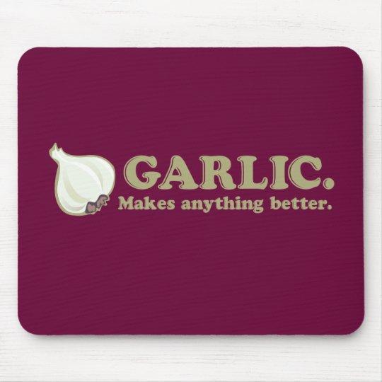 Funny Garlic Mouse Pad