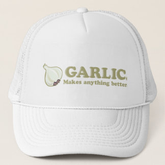 Funny Garlic Trucker Hat