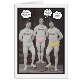 Funny Gay Birthday Card