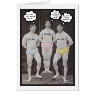 Funny Gay Birthday Greeting Card