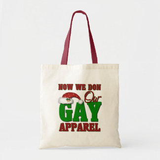 Funny Gay Christmas Gift Bags