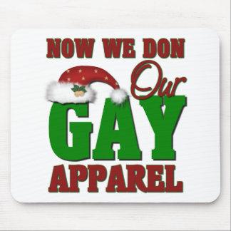 Funny Gay Christmas Gift Mouse Pad