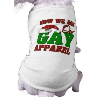 Funny Gay Christmas Gift Pet Clothes