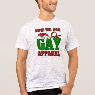 Funny Gay Christmas Gift T-Shirt