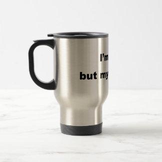 Funny Gay Slogan! Travel Mug