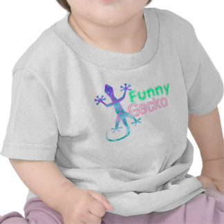 Funny Gecko Baby T-Shirt