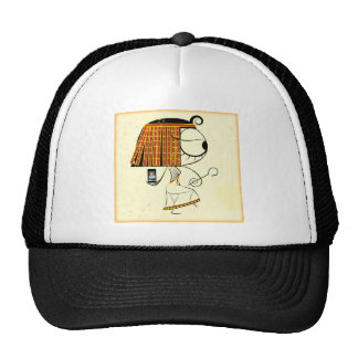 Funny geek egyptian empress hat