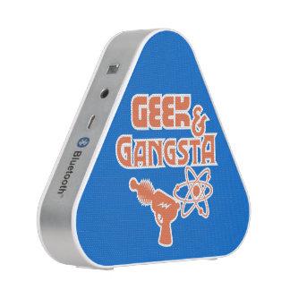 Funny Geek Gangsta Ray Gun Speaker