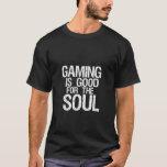 Funny Geek Humor Dark T-shirt for Gamers