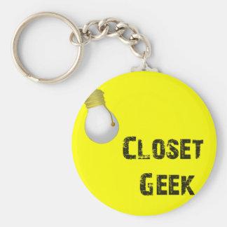 Funny Geek Keychain