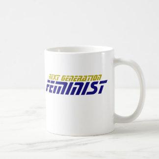Funny Geek Next Generation Feminist Mug