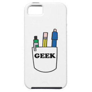 funny GEEK pocket protector graphic iPhone 5 Cover