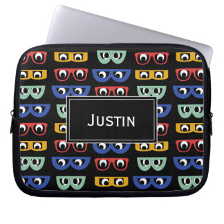 Funny Geeky Googly Eyes, Multicolor Unisex Bag
